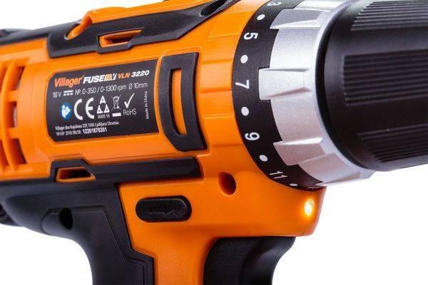 Akumulatorska bušilica / odvijač VLN 3220 (1BCB)